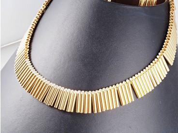 Schmuck Atelier Juwelier Steck Kette Collier 2,40 Karat Brillanten 750 Gold Box
