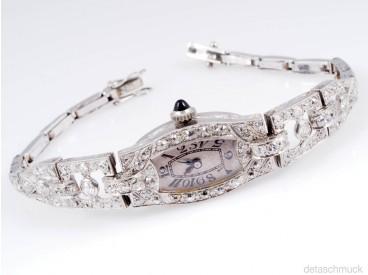 Damen armband platin