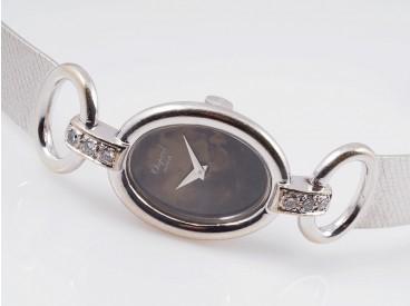 Chopard Damen Armband Uhr Brillanten 750 Gold 18 Karat Edelstein