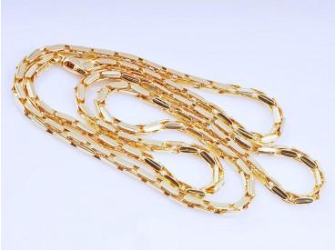 Marken Kette 750 Gold 18 Karat Italien um 1990 ca. 30,50 Gramm