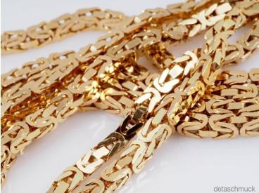 Königs Kette Collier 585 Gelb Gold ca. 47,85 Gramm ca. 90,00 cm