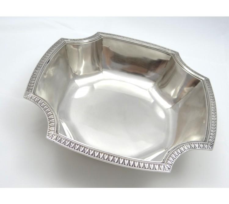 antike Art Deco Schale Otto Schneider 800 Silber ca. 545.00 Gramm