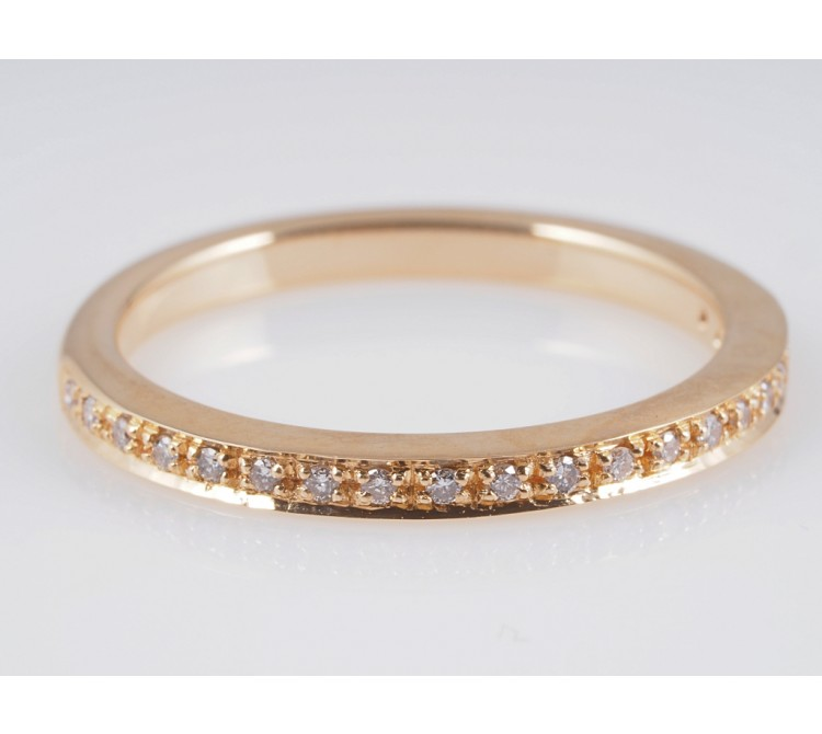 Halbmemory Ring Brillanten 585 Gelb Gold 14 Karat Wert: ca. 570,- EUR