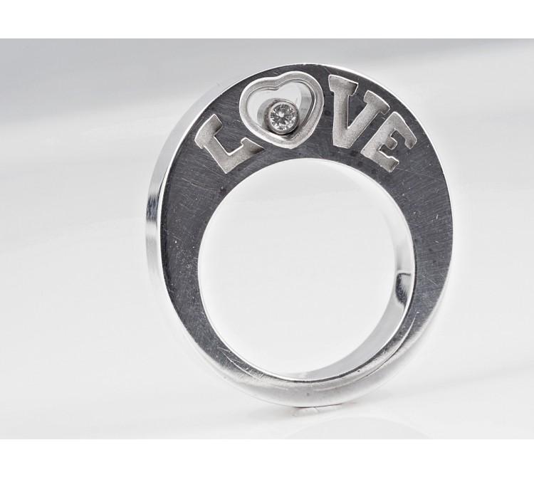 Chopard Happy Diamonds Ring Brillant 750 Gold 18 Karat ca. 17,40 Gramm