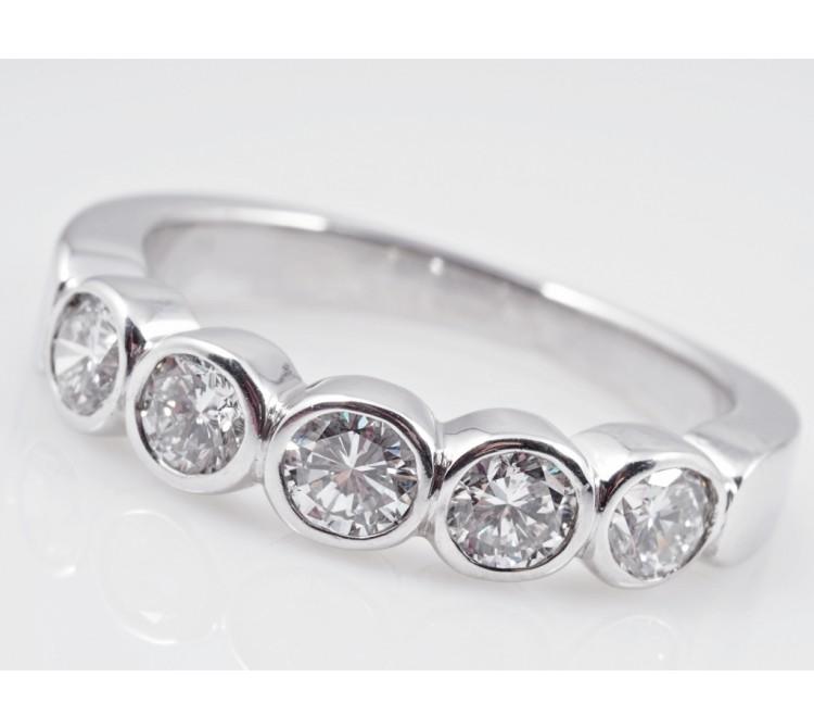 Allianz Halbmemory Ring 1,00 Karat Brillanten 585 Gold Wert: ca. 2.800,- EUR