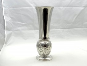 antike Jugendstil Vase 830 Silber Norwegen um 1910