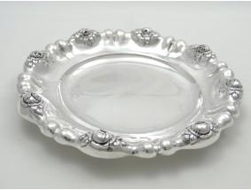 antike Schale Rosendecor 835 Silber Deutschland um 1900