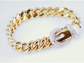 Wempe Armband 1,10 Karat lupenreine Brillanten 750 Gold Wempe Zertifikat