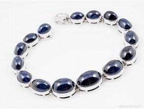 Armband 50,00 Karat Saphir 585 Gold ca. 33,50 Gramm Wert: ca. 4.500,- EUR