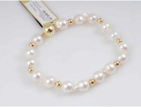 Armband Japan Akoya Zucht Perlen 585 Gold 14 Karat Wert: 760,- EUR