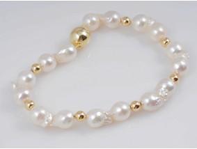 Armband Japan Akoya Zucht Perlen 585 Gold 14 Karat Wert: 760,- EUR Zertifikat