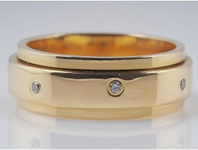 PIAGET POSSESSION RING mit BRILLANTEN / 750 GOLD / ORIGINAL ZERTIFIKAT und BOX