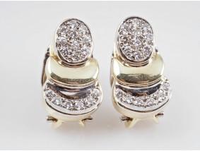Ohrstecker Ohrringe 0,40 Karat Brillanten 585 Gold Wert: ca. 1.300,- EUR