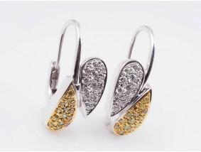 Ohrringe 1,20 Karat Brillanten 750 Gold Wert: ca. 2.800,- EUR