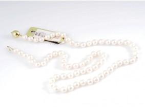 Kette Japan Akoya Zucht Perlen 585 Gold 14 Karat Wert: 660,- EUR Zertifikat