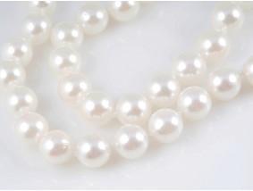 Kette Japan Akoya Zucht Perlen 585 Gold 14 Karat Wert: 770,- EUR Zertifikat