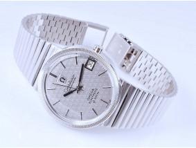 Omega Herren Armband Uhr Constellation Chronometr Electronic 750 Gold