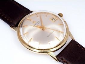 Certina Blue Ribbon Herren Armband Uhr Automatik 585 Gold Etui