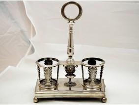 antike Empire Menage von D. Garreau 950 Silber Frankreich um 1819