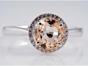 Ring 2,34 Karat Brillanten Saphir 750 Gold IGI Expertise neu