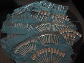 Tiffany & Co. zwölf Personen 138-teiliges Ess Besteck Set 925 Sterling Silber