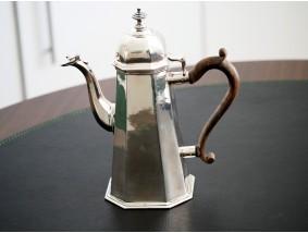 antike KAFFEE KANNE / 800 SILBER / ca. 787,00 Gramm