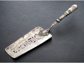 antiker Jugendstil Silber Tortenheber Juwelier Bach um 1890
