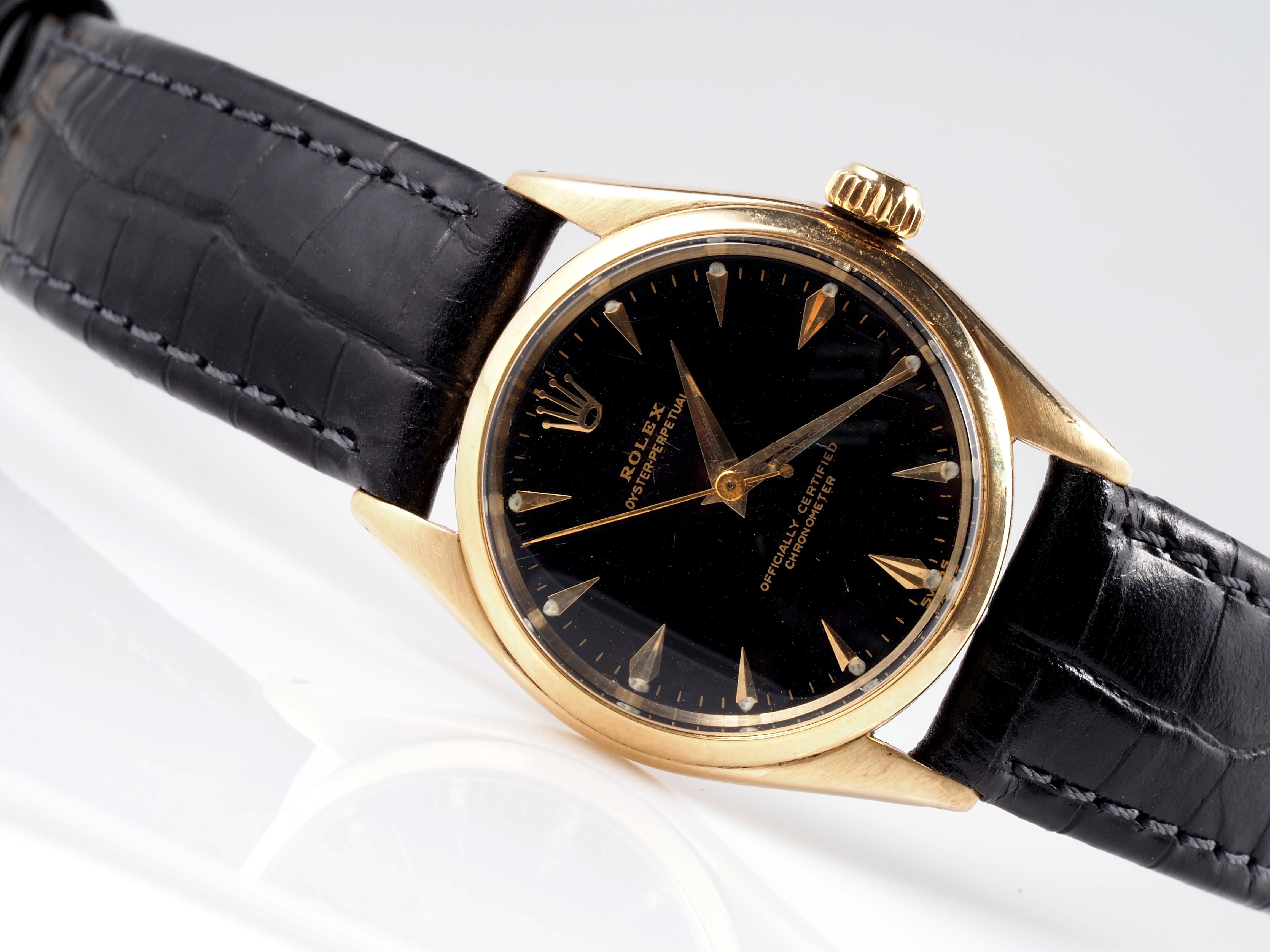 Omega Herrenuhr Gold 585