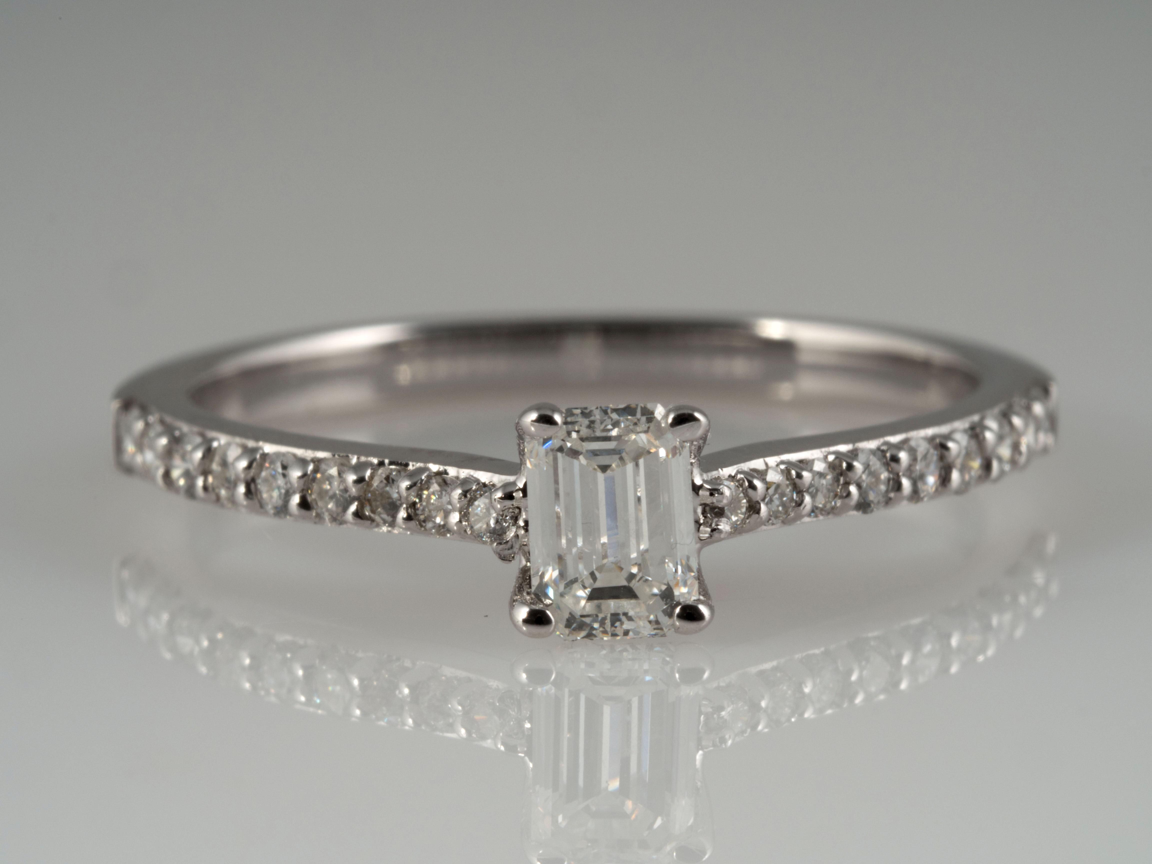 verlobungsring brillanten und solit r diamant 750 gold wert eur ebay. Black Bedroom Furniture Sets. Home Design Ideas